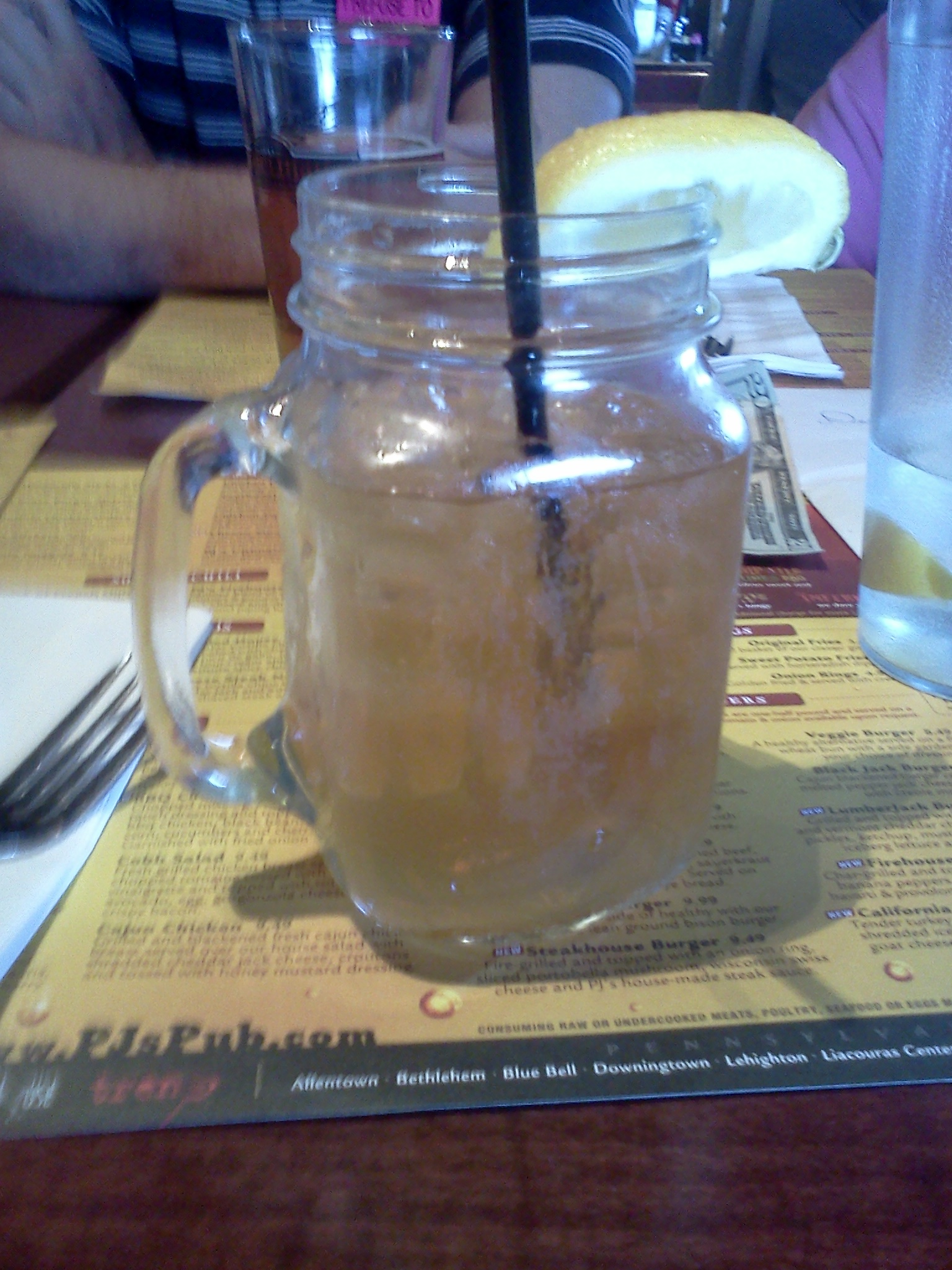 Sweet Tea Vodka and Lemonade