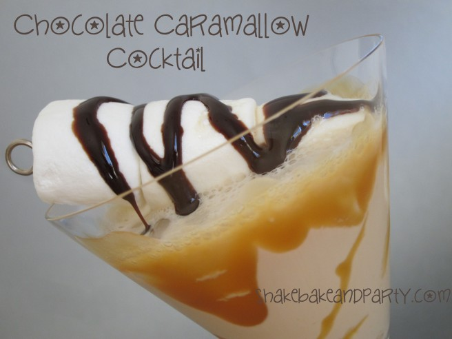 chocolate caramallow cocktail