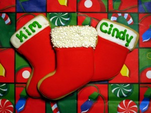 Stocking Cookies
