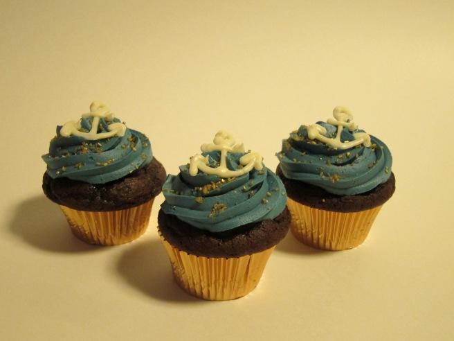 Navy Cupcakes 4