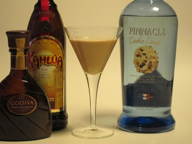 Chocolate Kahlua Cookie Cocktail