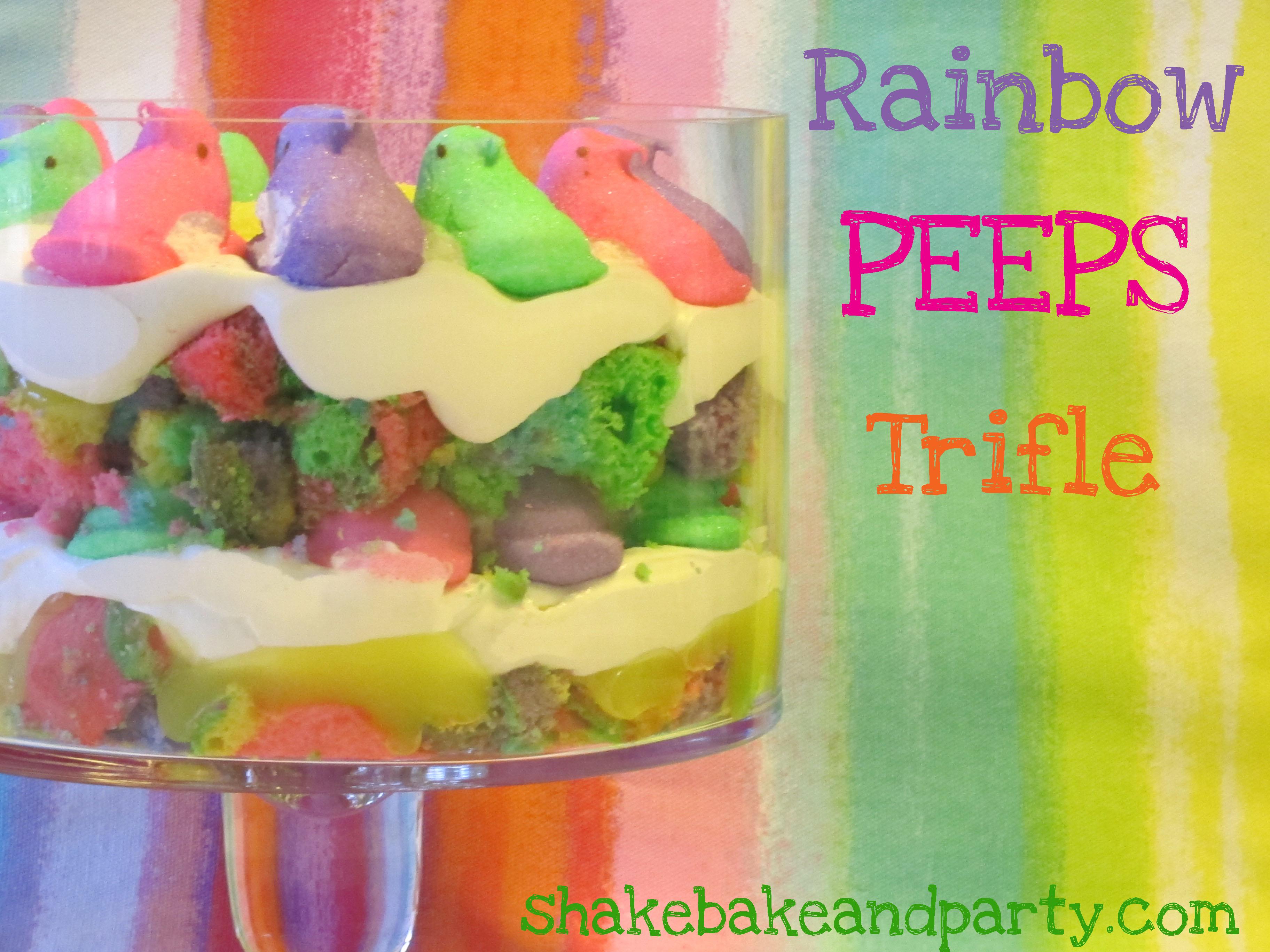 PEEPS Glorious PEEPS! | Shake Bake and Party
