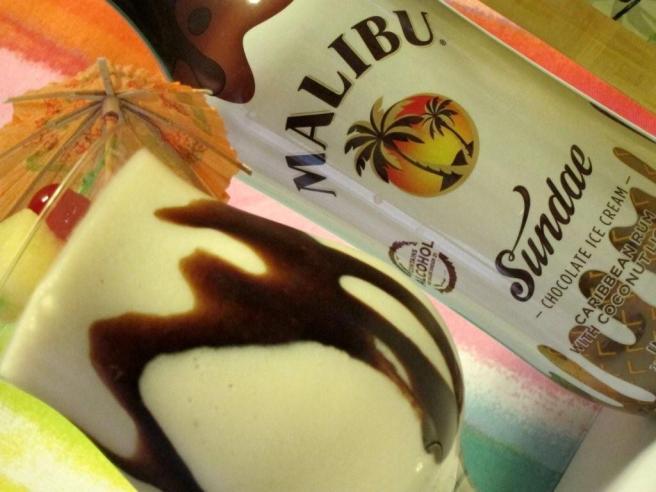 Malibu Sundae, Banana Liqueur, Pineapple Juice