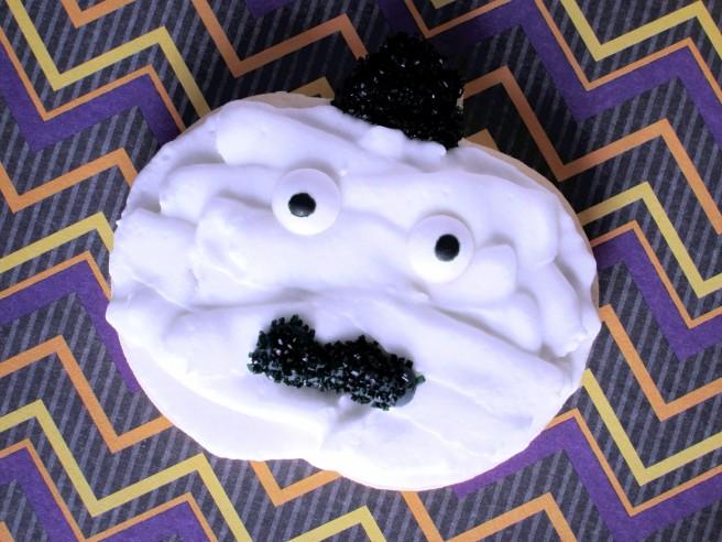 Mummy Pumpkin Cookie