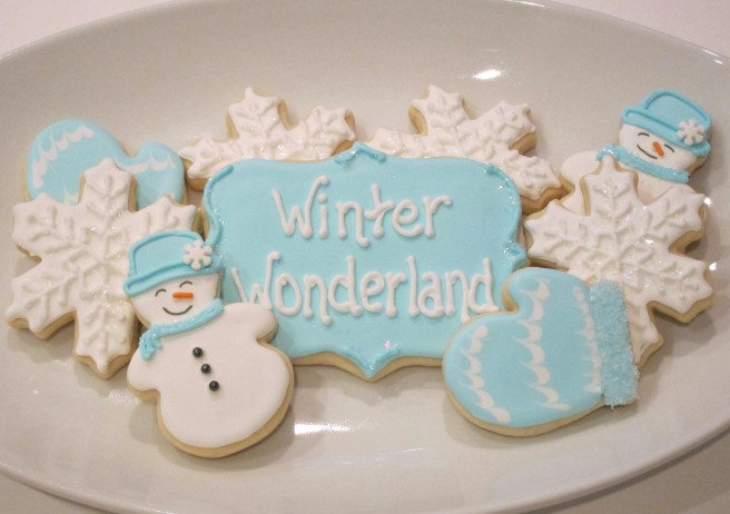 Winter Wonderland Decorated Cookies