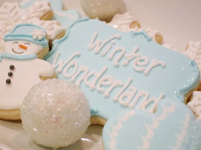 Winter Wonderland Cookies | Shake Bake and Party