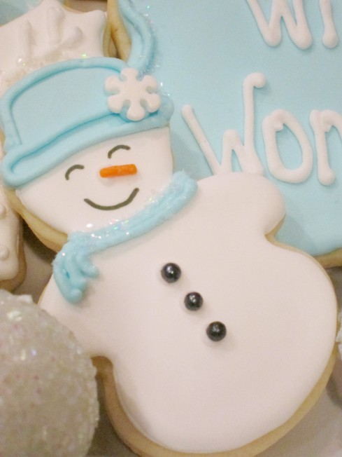 Snowman Cookie | Shake Bake and Party