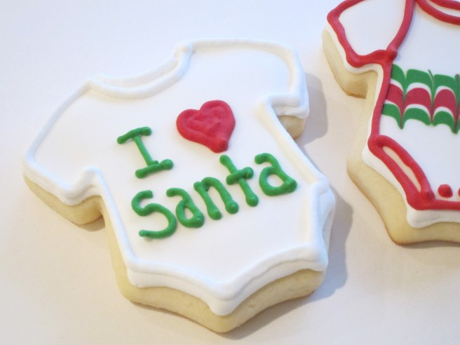 I Heart Santa Cookie | Shake Bake and Party