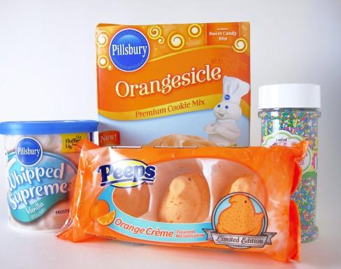 Orange Peepsicle Cookie Ingredients