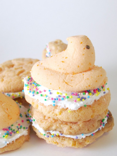 Orange Peepsicle Cookies | Shake Bake and Party