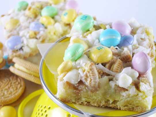 Lemon Coconut Magic Bars | Shake Bake and Party