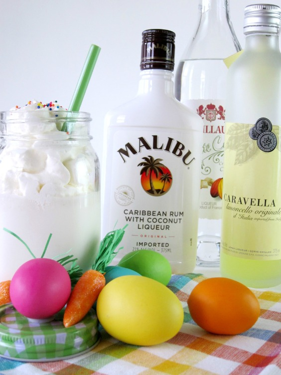 Easter Cake Cocktail | Shake Bake and Party