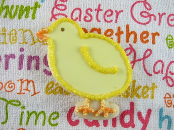 Easter Cookies - Chicks, Eggs and Bunny Butts