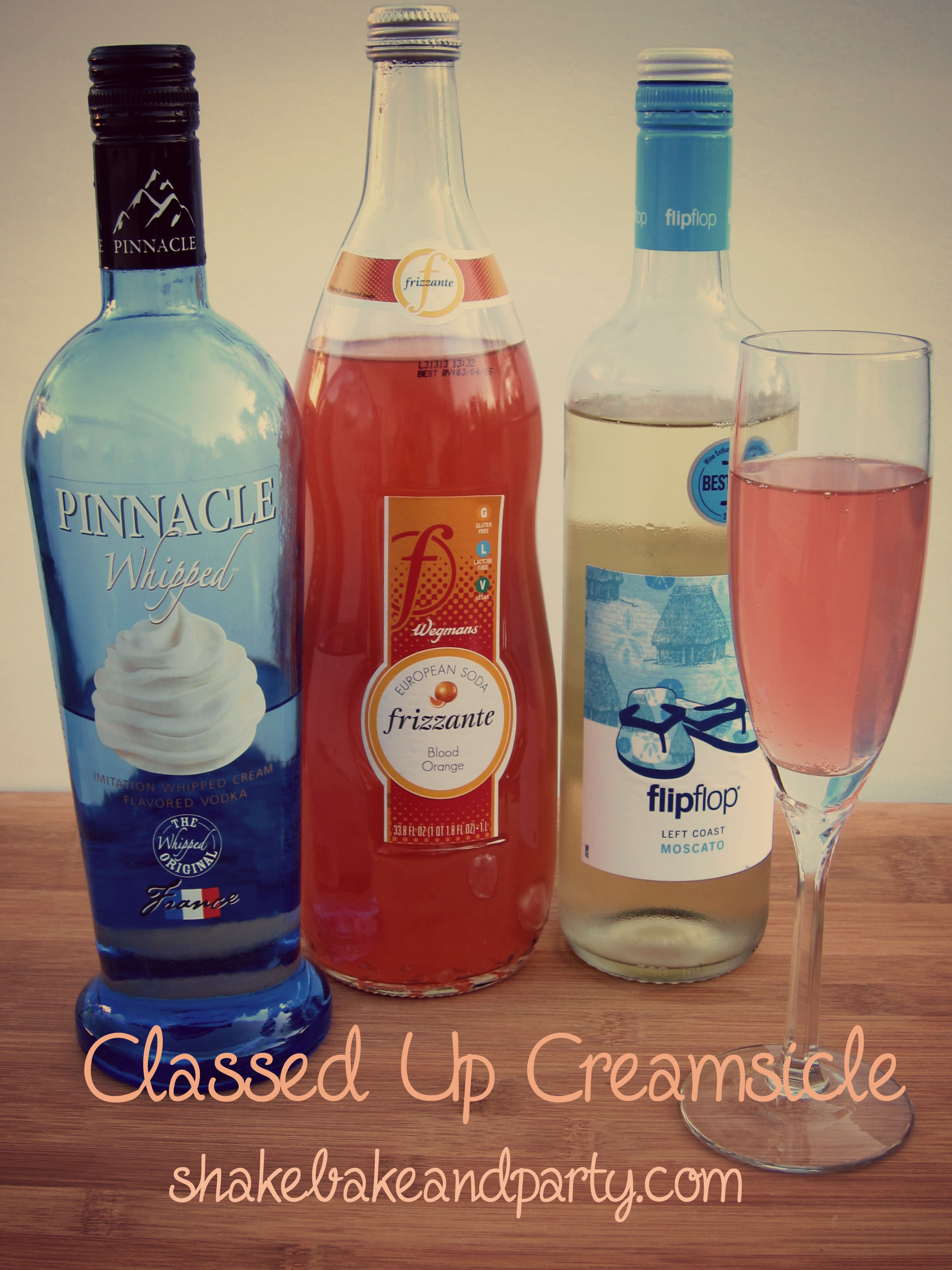 Classed Up Creamsicle via Shake, Bake & Party