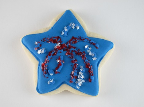 Fireworks Cookies | Shake Bake and Party