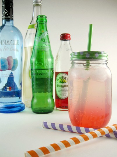 Fizzy Candy Lemonade | Shake Bake and Party