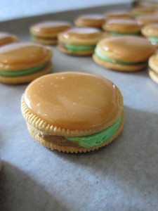 Caramel Covered Oreos