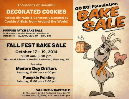 Go Bo Foundation Bake Sale