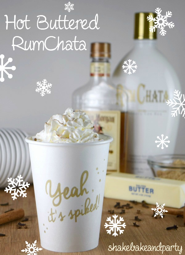 Saturday Night Sips – Hot Buttered RumChata | Shake Bake and Party