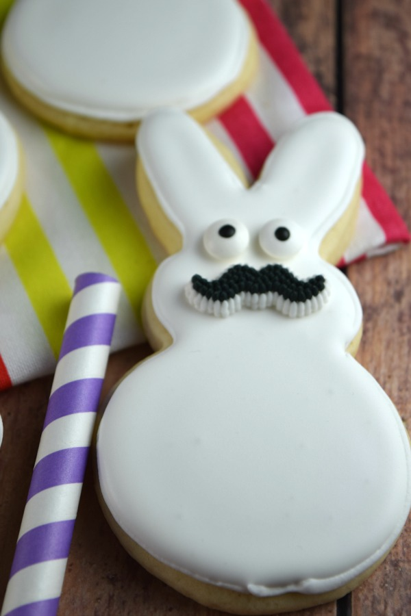 Mustache Bunny | Shake Bake and Party