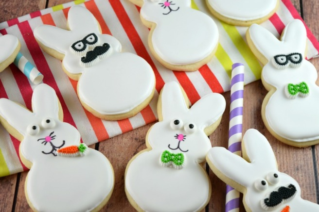 Funny Bunny Cookies | Shake Bake and Party