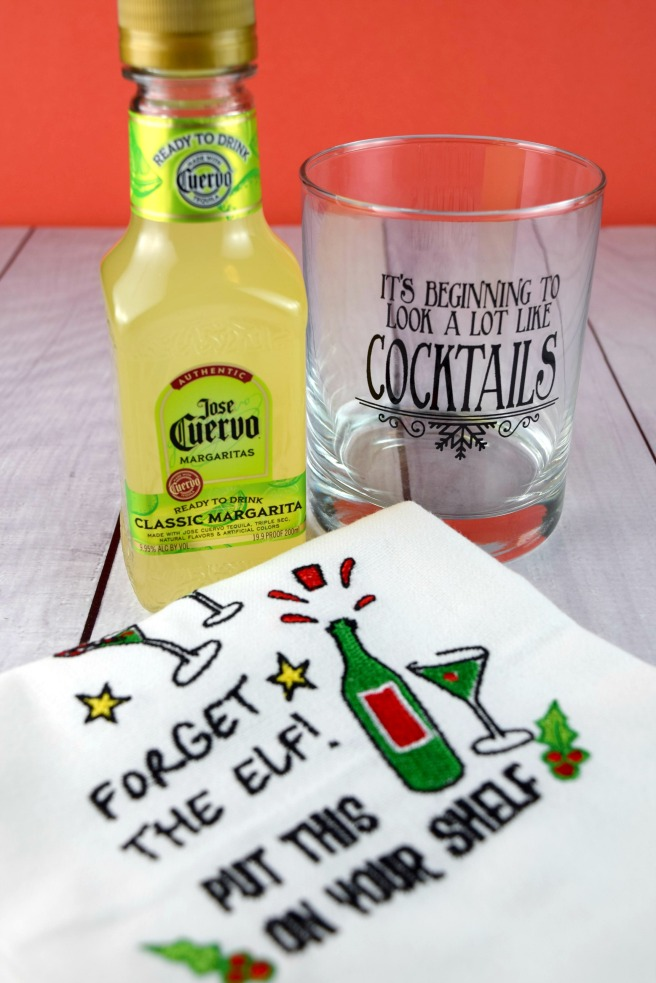 Inexpensive Christmas Gifts with a Boozy Twist from Shake Bake and Party #margarita #cocktails