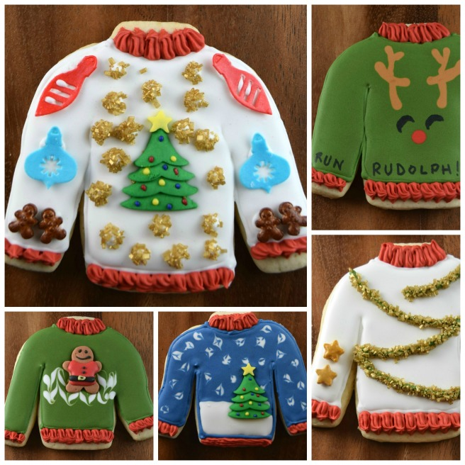 Ugly Sweater Cookies - Shake Bake and Party
